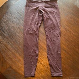 Lululmeon leggings - darker purple